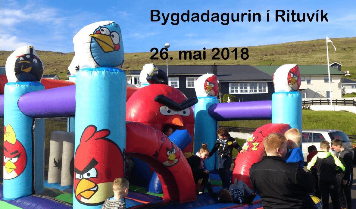 Bygdadagur í Rituvík 26. Mai 2018