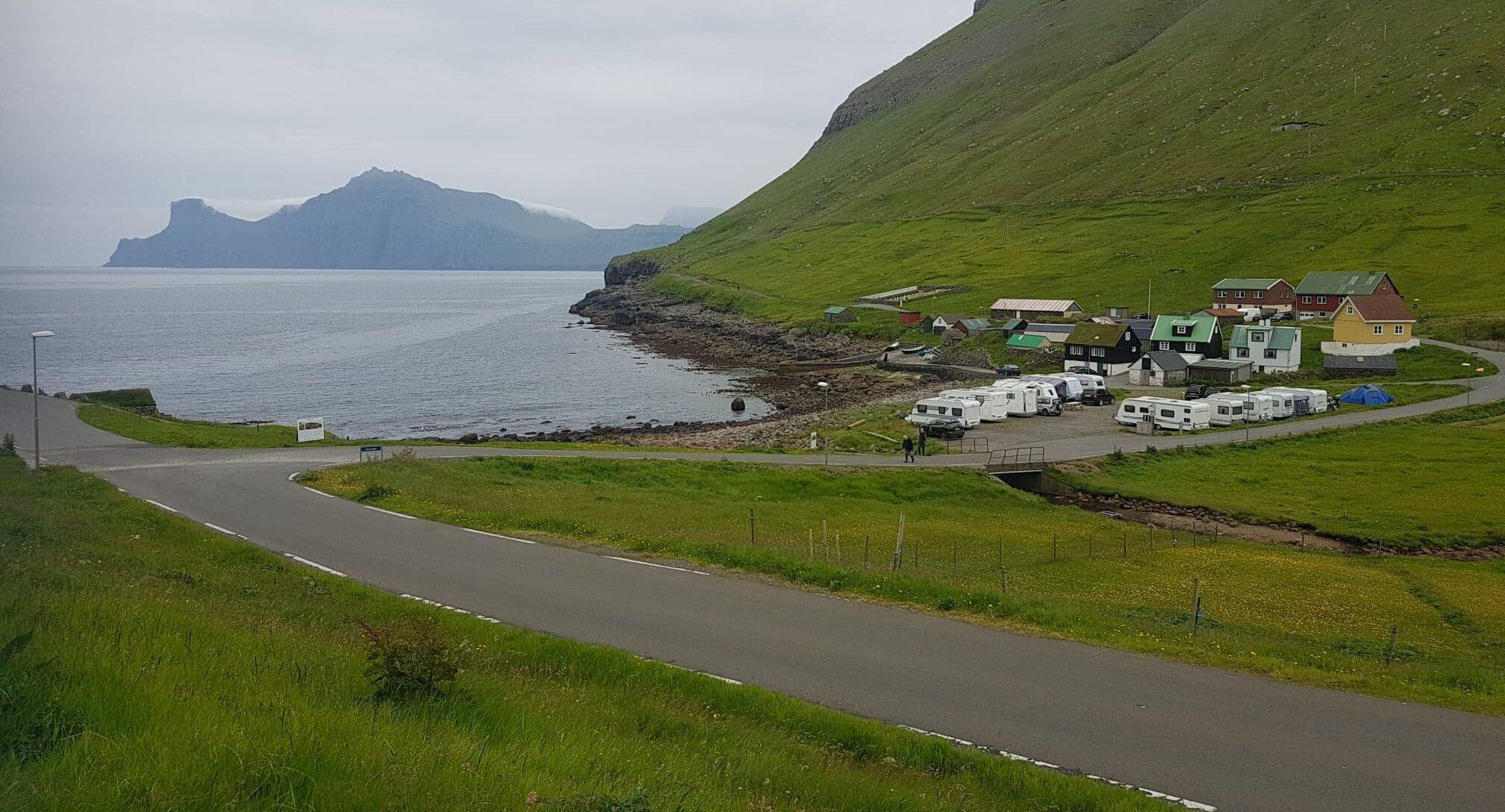 Kamping í Elduvík