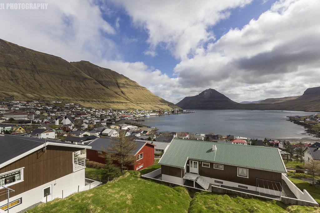 Camping in Fuglafjørður