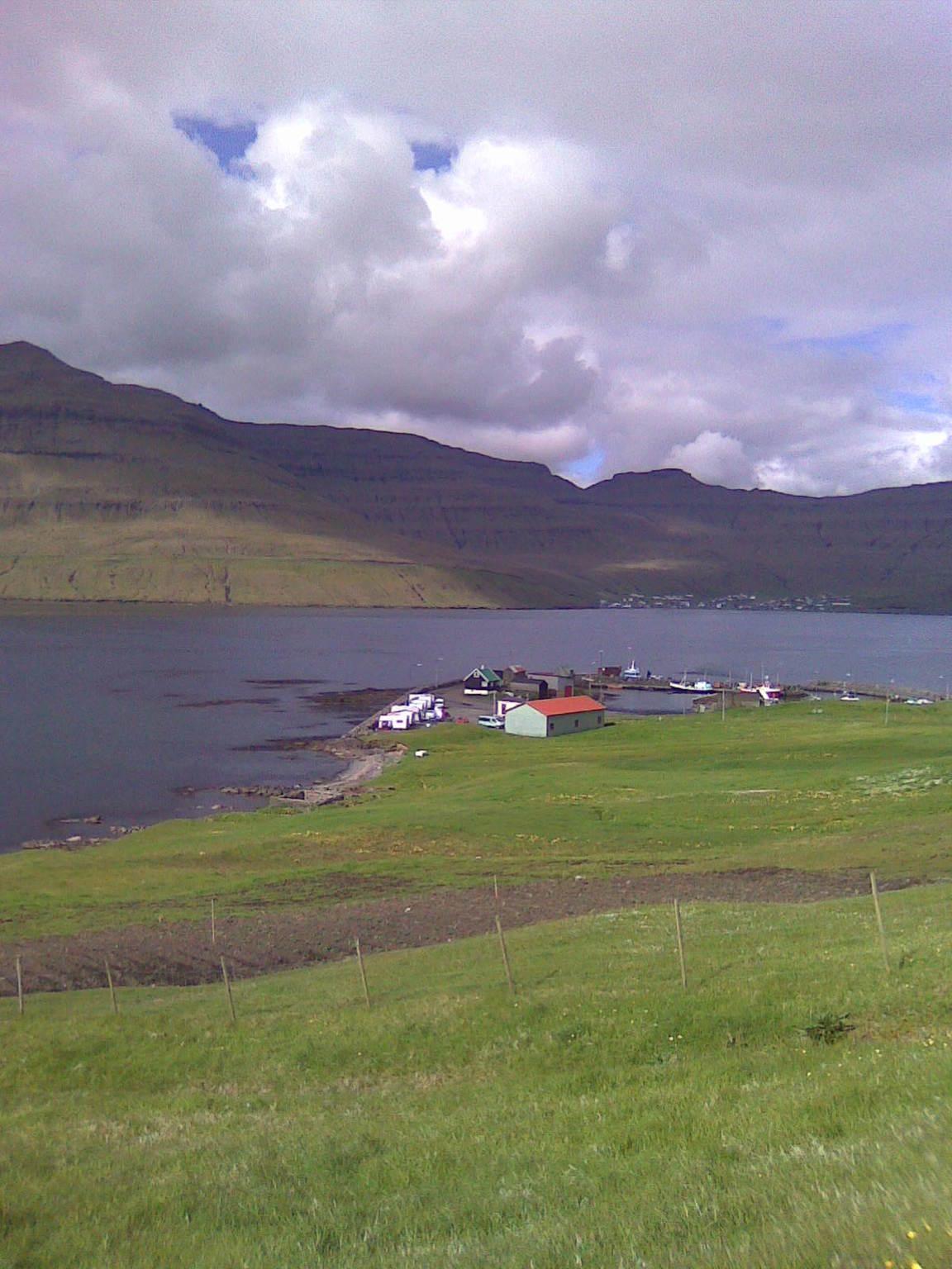 Kamping á Selatrað