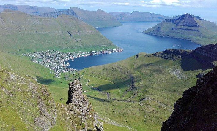 Gjógvaráfjall og Blábjørg