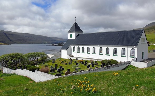 The church of Norðskála