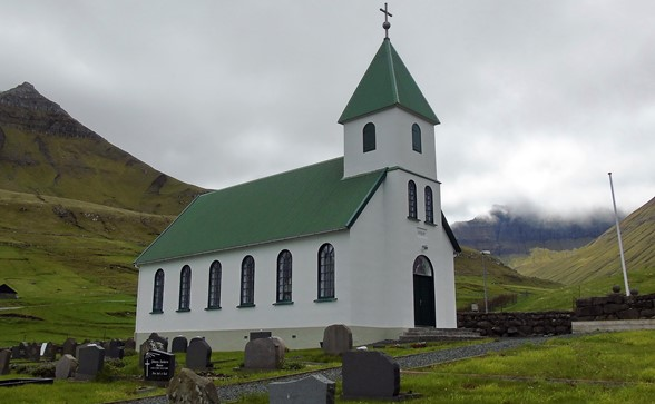 The church of Gjógv