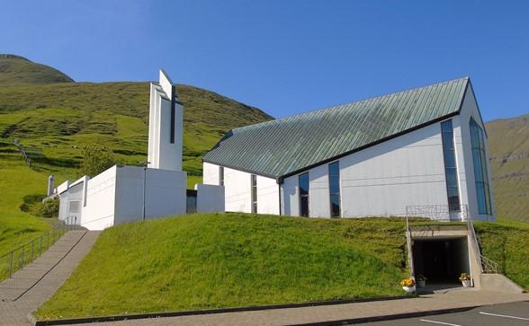 Kirkjan við Gøtugjógv