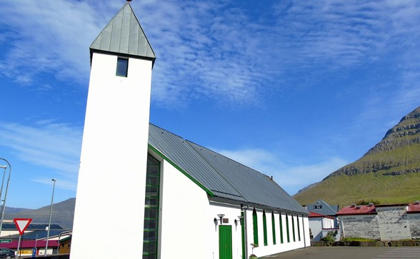 The church of Leirvík
