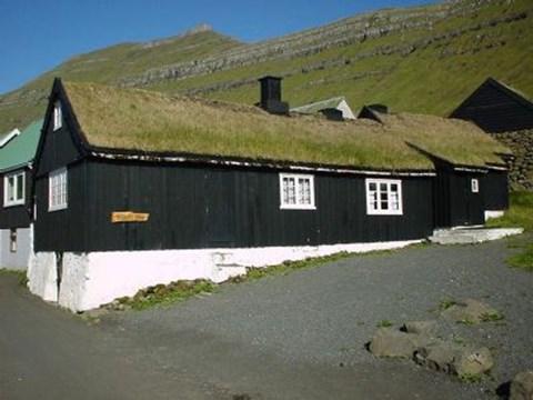 History museum Blásastova in Norðragøta